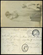 POSTAGE DUE CHRISTMAS DAY 1912 PPC LONDON from WATFORD