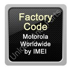 Unlock Code Motorola EX431G W409 W418 W419 WX346 WX416 XT303 XT389 XT914 XT915