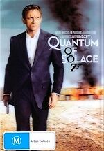 Quantum of Solace * NEW DVD * James Bond 007 * Daniel Craig