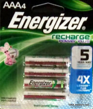 Energizer AAA Rechargeable Power Plus Batteries 4 Pack 700 mAh