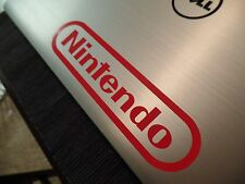 NES Nintendo Vinyl Sticker Decal Gloss Red 6.50 inches by 1.50 inches