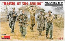 "1/35 MiniArt 35084-  WWII ""Battle of the Bulge"".   -  (5 Figure set) Plastic Kit"
