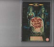RETURN OF THE LIVING DEAD DVD HORROR ZOMBIES RATED 18