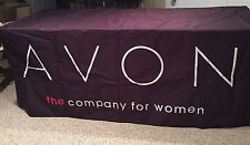 Avon Logo The Company For Women Tablecloth - 8FT - Perfect for Outdoor Events