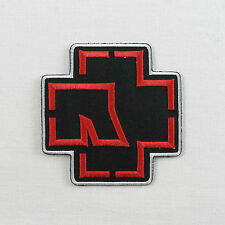 RAMMSTEIN Red LOGO EMBROIDERED Iron on / Sew on PATCH