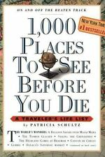 1,000 Places to See Before You Die by Patricia Schultz c2003 VGC Paperback