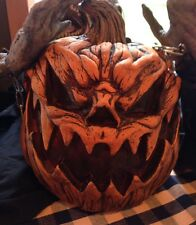 Distortions Evil Pumpkin Latex Halloween Haunted Attraction Cornfield Prop