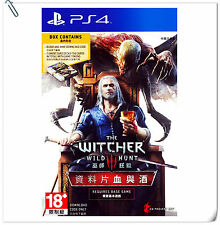 PS4 The Witcher 3 Wild Hunt Blood and Wine Expansion Pack Warner Home Video Game