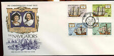 New Zealand 1992 The Navigators FDC First Day Cover #C12794