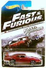 1969 '69 CHARGER DAYTONA FAST & AND FURIOUS OFFICIAL MOVIE CAR HOT WHEELS 2014
