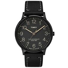 Timex Waterbury Classic Black Watch