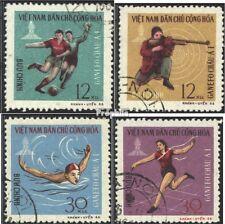 Vietnam 462-465 (kompl.Ausg.) gestempelt 1966 GANEFO-Sportspiele PhnomPenh EUR 2