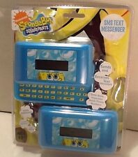 SpongeBob SquarePants SMS Text Messenger Set Of Two Message Devices, Calculator