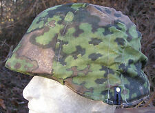 Original Waffen SS Wartime Camouflage Oakleaf B Material Type I Helmet Cover #3