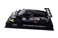 Bburago 1:43 Carrera - Lamborghini Murcielago FIA GT Die-cast Coche (18-38002)