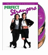Perfect Strangers Season 1 + 2 TV Series First Second Region 4 New DVD (4 Discs)