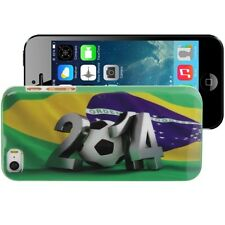 Football World Cup back skin cover mondiali calcio Brasile 2014 per iPhone 5 S