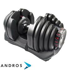 TOORX Adjustable weight dumbbell 5 - 40 kg