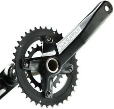 Suntour XCR-D Hollowtech 10s Double 36/22T Chainset Crankset MTB Bike 10 Speed