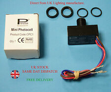 New Preslite Automatic Dusk To Dawn Miniature Sensor Switch 16mm 230-240V CPC1