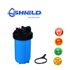 """10''x4.5''Big Blue Whole House  Tank Water Filter Housing  1"""" Port"""