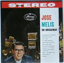 Jose Melis - On Broadway USA 1950s Black Mercury LP