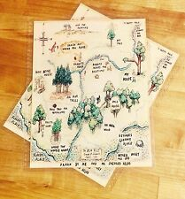 Winnie the Pooh Wood Map Cover Set for use with Erin Condren Life Planner