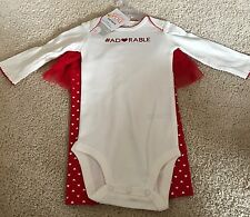 BABY GIRL'S CARTER'S JUST ONE YOU VALENTINE'S DAY #ADORABLE 2 PC. OUTFIT-6 MOS.