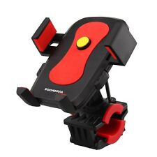 360° Motorcycle Bicycle MTB Handlebar Mount Cradle Holder For Cell Phone GPS