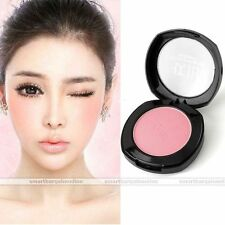 Natural Soft-Pressed Face Blush Pink Cheek Blusher Palette Cosmetic Makeup Tool