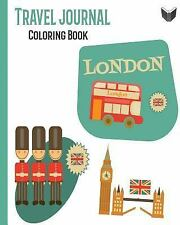 London Travel Journal Coloring Book for Children. the Perfect Gift :...