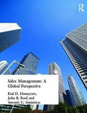 Sales Management: A Global Perspective Ford, John B (Author)/ Honeycutt, Earl (A