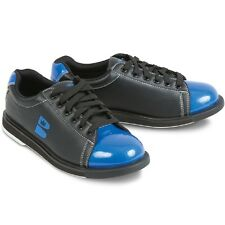 Mens Brunswick TZone Bowling Shoes Color Black & Blue Size 10