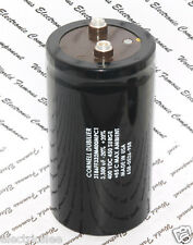 1pcs-CDE 3300uF 400V 3186FF332M400MPC1 Screw Terminal Capacitor- 65x118 (BOX022)