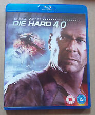 Die Hard 4.0 (New and Unsealed)(UK Blu Ray) free Postage