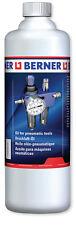 Druckluftöl Berner 1000 ml Air comprimé outil Air comprimé Clé à chocs 128863
