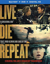 Live Die Repeat: Edge of Tomorrow (Blu-ray/DVD, 2014, 2-Disc Set, Includes Digi…