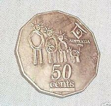 1994 Australian Uncirculated 50 Cent Coin, Year Of the Family