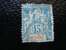 GUYANE FRANCAISE timbre yt n° 35 obl (A4) stamp