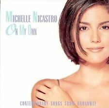 On My Own : Contemporary Songs from Broadway; Michelle Nicastro 1997 CD, Musical