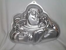WILTON Disney BUZZ LIGHTYEAR CAKE PAN Toy Story 2105-8080 Aluminum Mold Baking