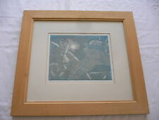 Limited Edition Signed Etching/Engraving  Ricky Romano (Surrealism?)