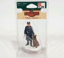 2003 Lemax Village Collection Accessories Figurines Officer & Friend