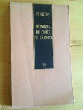 Mémoires Du Comte De Gramont - Hamilton