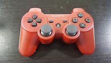 BRAND NEW PS3 Modded Wireless Controller Red | 8 Modes Rapid Fire | BLOWOUT!