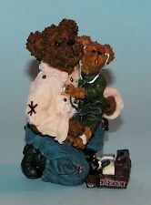 """Boyds Bears resin """"E. M. T. Bearsley...to the Rescue"""" #228416 caregiver NIB 2003"""