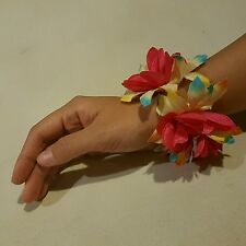 Ladies Floral Wrist Band Bracelet