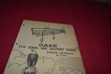 Case Tractor F170 Rake Dealer's Parts Book Manual YABE8 ver3