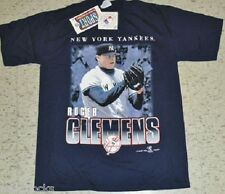 Roger Clemensshirt New York Yankees Vintage T-Shirt Large NEW w/ TAG Dead Stock