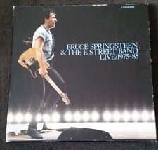 BRUCE SPRINGSTEEN & THE E STREET BAND LIVE 1975 TO 1985 CASSETTE X 3 IN BOX